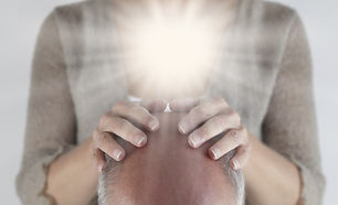 Opening the Crown Chakra - Male patient