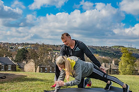 Mobile personal training outdoors