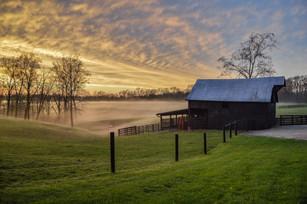 Richardsons Farm Sunset