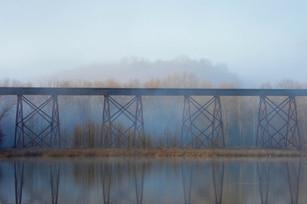 Shuffle Creek Trestle Morning