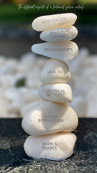 Spiritual Saying On Rocks