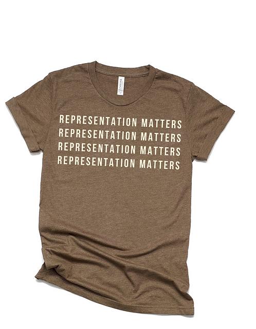 Representation Matters ( brown)
