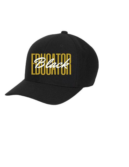 Black Educator Cap