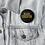 Thumbnail: Black Educator Button (black & gold)