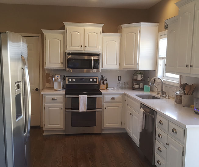 painted cabinetry | Riley Designs KC