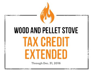 Congress Extends the Wood and Pellet Stove Tax Credit
