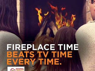 HPBA Celebrates National Fireplace Month in October