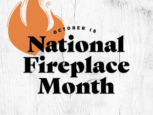 October is National Fireplace Month