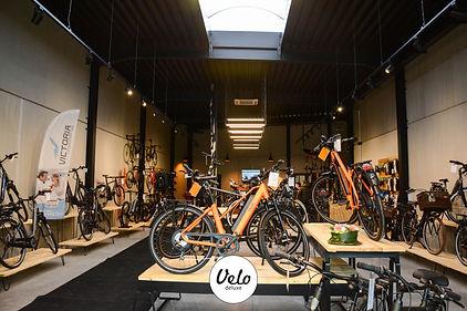 showroom van fietswinkel Velo Deluxe
