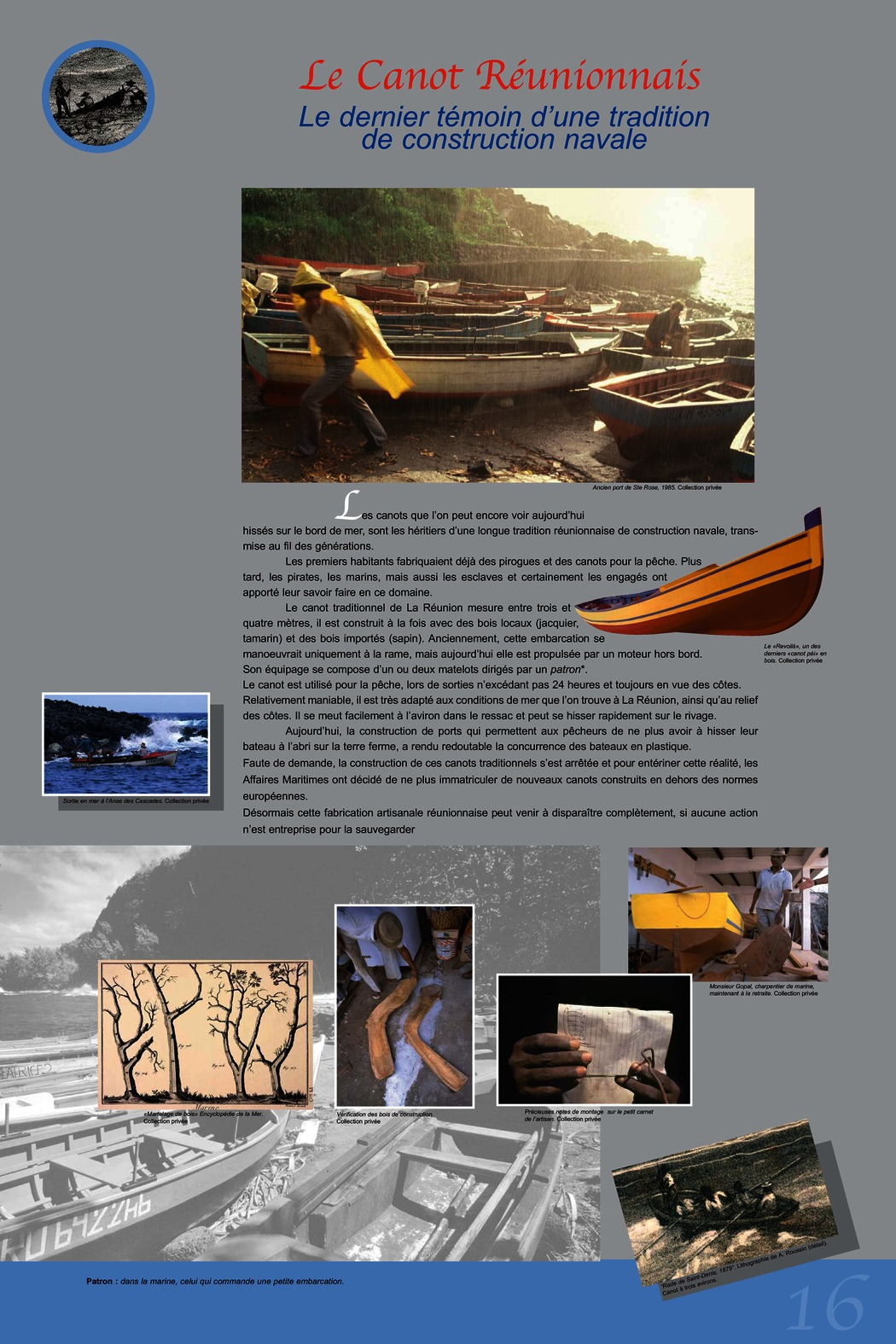 Le Canot Réunionnais
