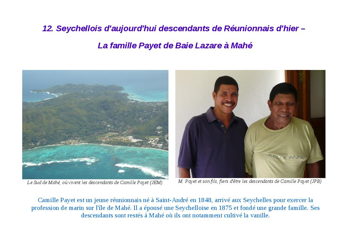 Famille Payet