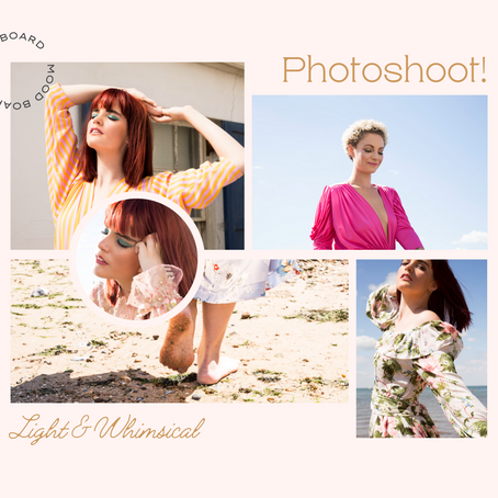 How to Create a Mood board for a Photoshoot