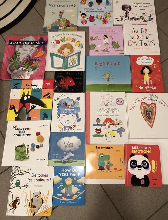 Une sélection de livres sur les émotions