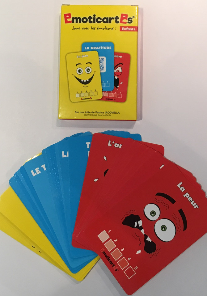 Les émoticartes : pour aider les enfants à gérer leurs émotions