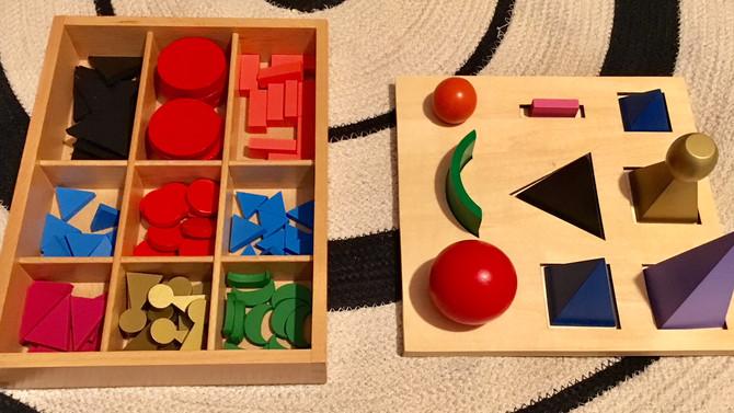 Premiers pas en grammaire avec Montessori