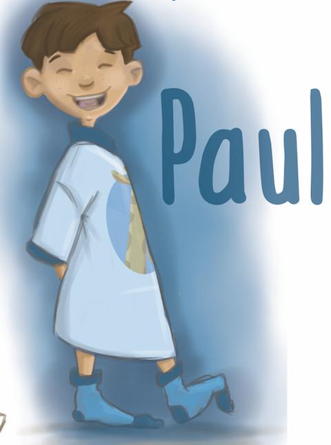 Paul : une série de 7 livres pour les enfants de 4 à 10 ans