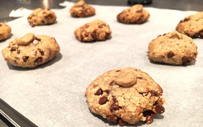 De délicieux cookies vegan