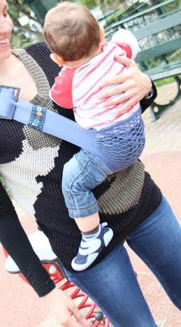 happee kids portage bébé