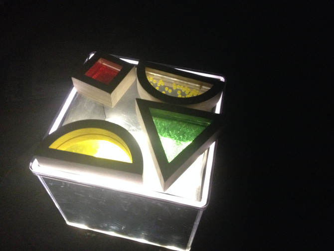 Notre petite table lumineuse