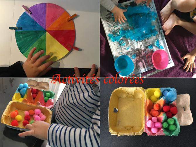 Activités colorées