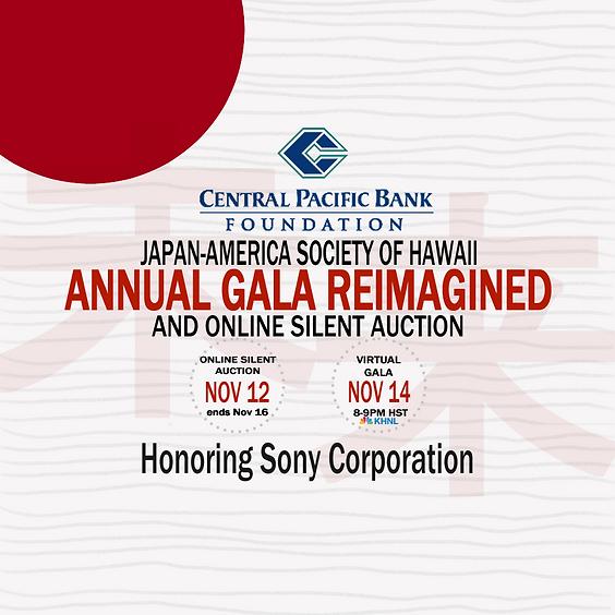 JASH Annual Gala Reimagined & Online Silent Auction (2020)