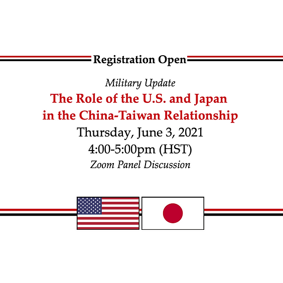 The Role of the U.S. and Japan in the China-Taiwan Relationship
