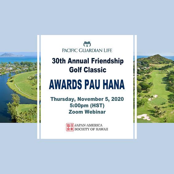 Golf Classic Awards Pau Hana