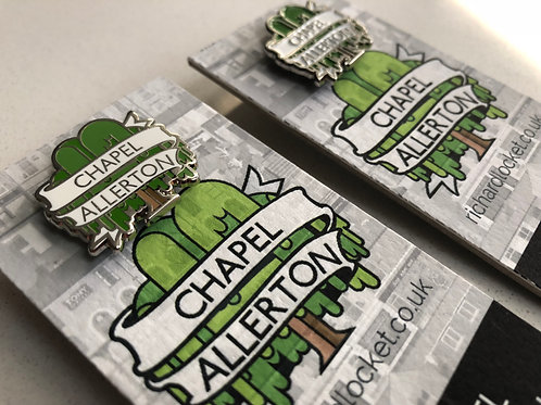 Chapel Allerton pin badge