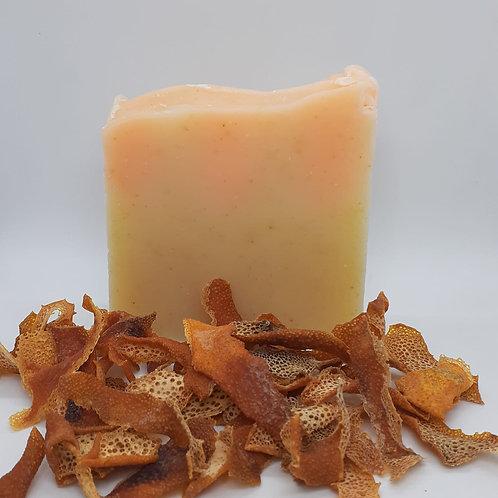 Portakal Kabuğu Tozlu Doğal Sabun