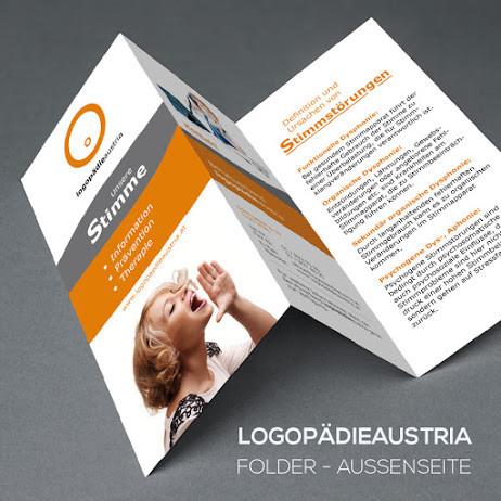 Folder für Logopädieverband Österreich