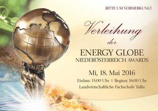 Redesign + Gestaltung der Werbemittel für den internationalen Umweltpreis ENERGY GLOBE