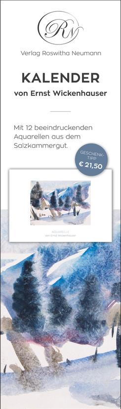 Rollup für Bewerbung eines Kalenders von Ernst Wickenhauser