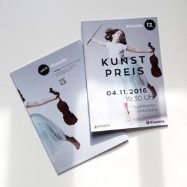 Gestaltung der Broschüre für den Kiwanis Kunstpreis
