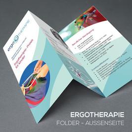 Foldergestaltung für eine Ergotherapeutin