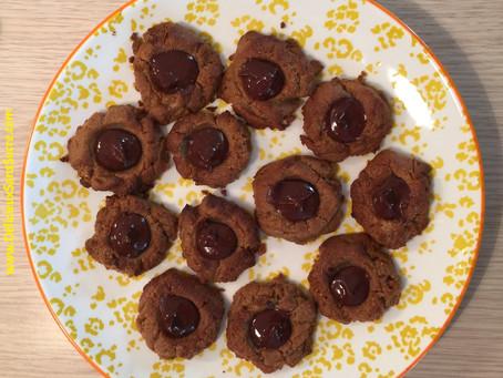 Baisers choco-cacahuètes