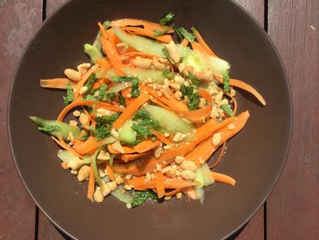 Salade façon bo bun