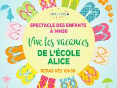 """Kermesse """"Vive les vacances"""" de l'école ALICE !"""