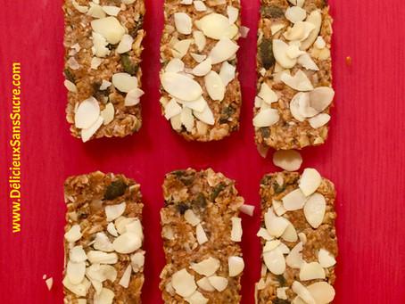 Barres de céréales cacahuètes