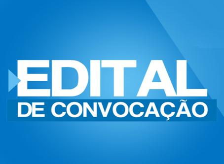 Edital de Constituição, Fundação, Eleição e Posse de diretoria da Associação dos Anistiados
