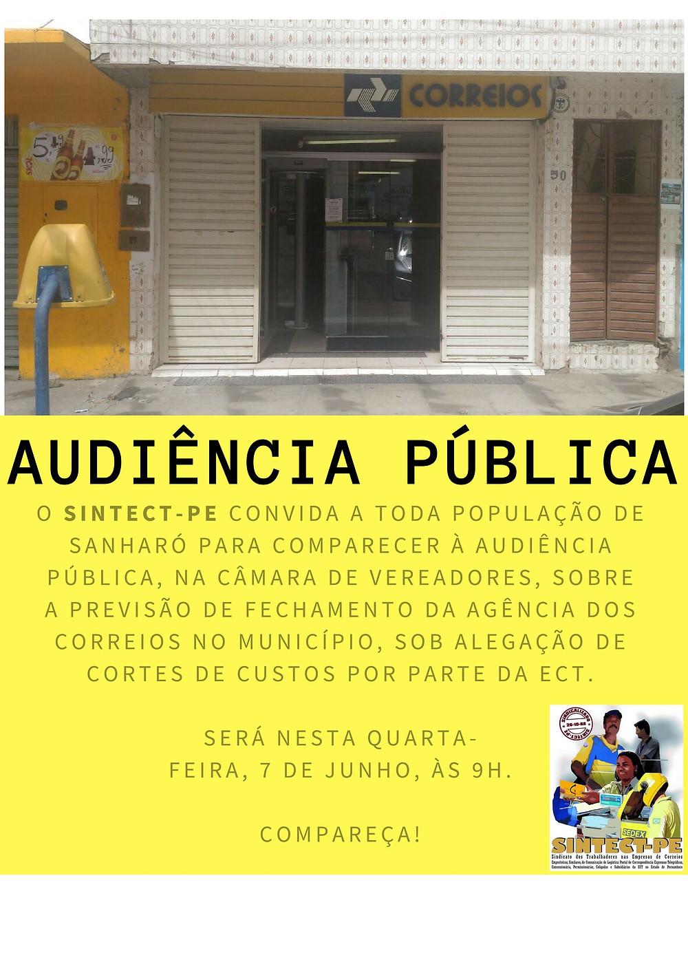 AudiênciaSanharó