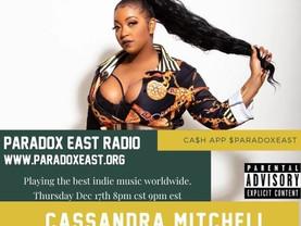 Meet Cassandra Mitchell - singer songwriter live on air Thursday night
