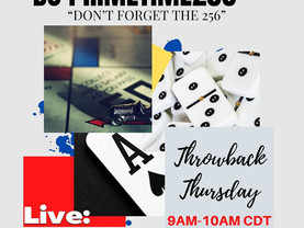 Join us live for Throwback Thursday.. 9am cst