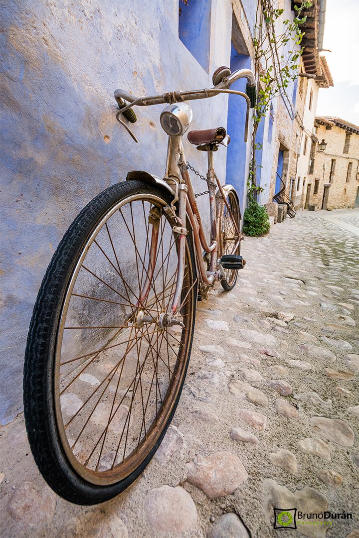 La bici de Valderrobres