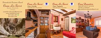 Tarjeta Casa Lo Ferré Beceite