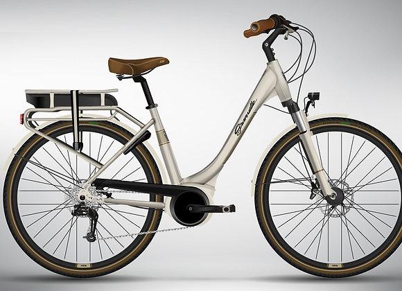 Vélo Granville  e Premium 40  Édition Vintage Pearl / Crème