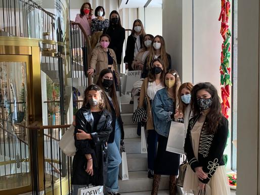 Visita a Casa Loewe del Diploma Fashion Law Vogue UC3M