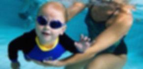 Children swimming lessons