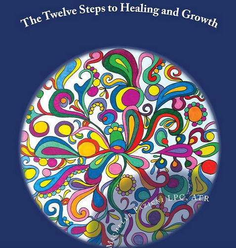 Alternative Twelve Steps, 12 Steps, Twelve Steps, The Twelve Steps, Empowerment, Mandala Coloring Book, Coloring Book, Empowement, Mandalas, Art Therapy, Healing, Growth