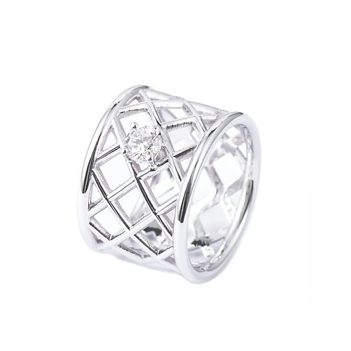 CRISSCROSS RING -MADE ON DEMAND-