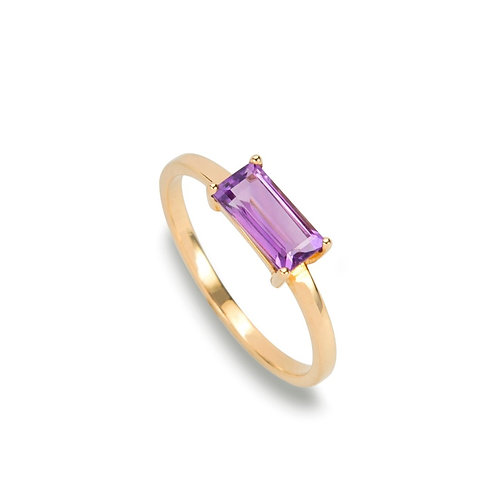 jewelry stores amethyst gold ring